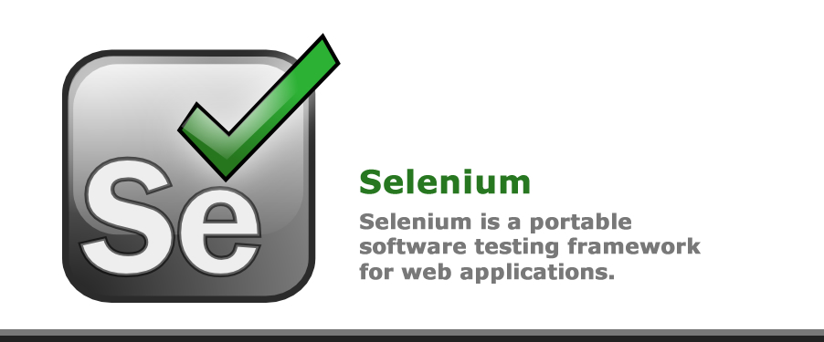 Selenium is a portable software testing framework for testing web application