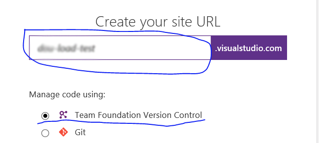 Create your site url