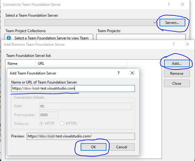 Linking  new account to the Visual Studio