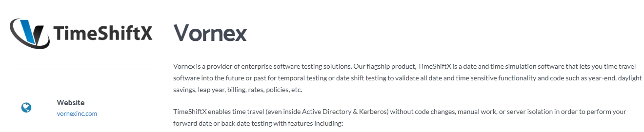 Vornex - Top Software Testing Solution Company